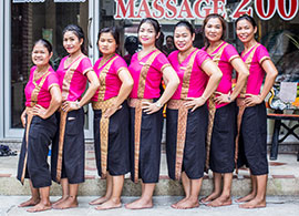 Healthland Massage Patong Staff Members